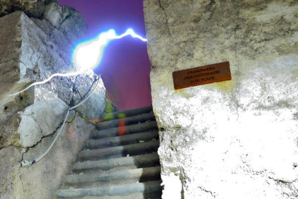 Forte Verena in notturna