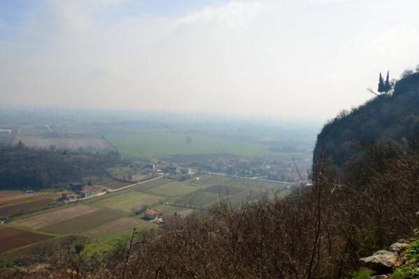 panorama dall'eremo di San Cassiano