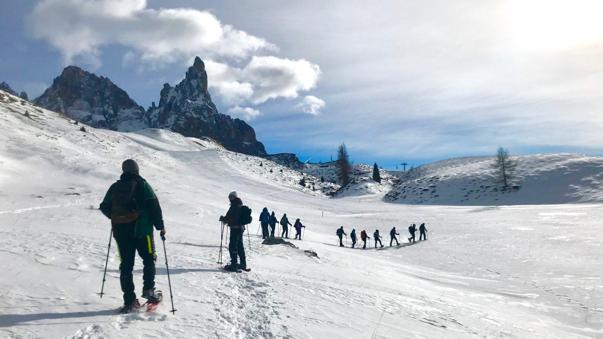 Ciaspolata in Val Venegia