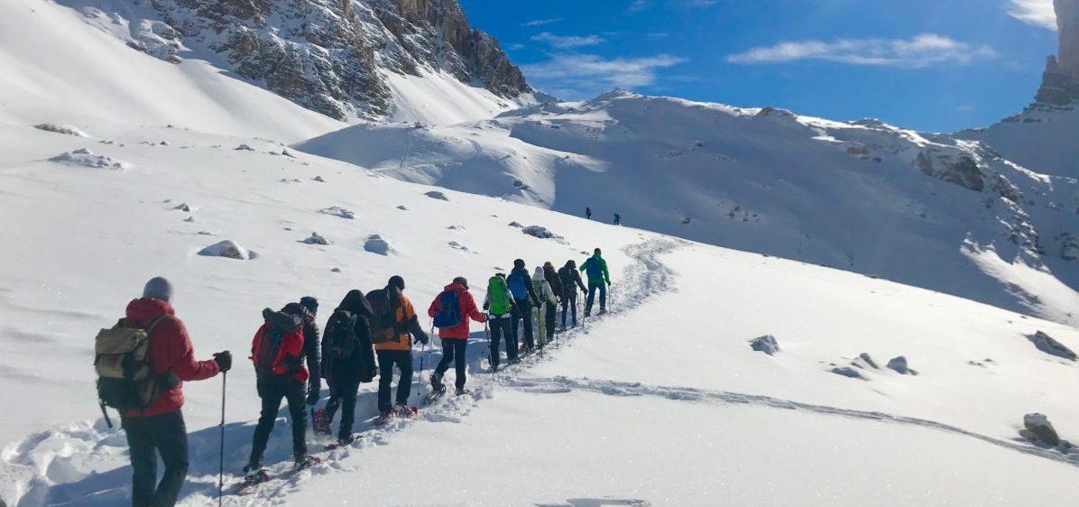 Le 5 regole di base per un escursione sulla neve in sicurezza