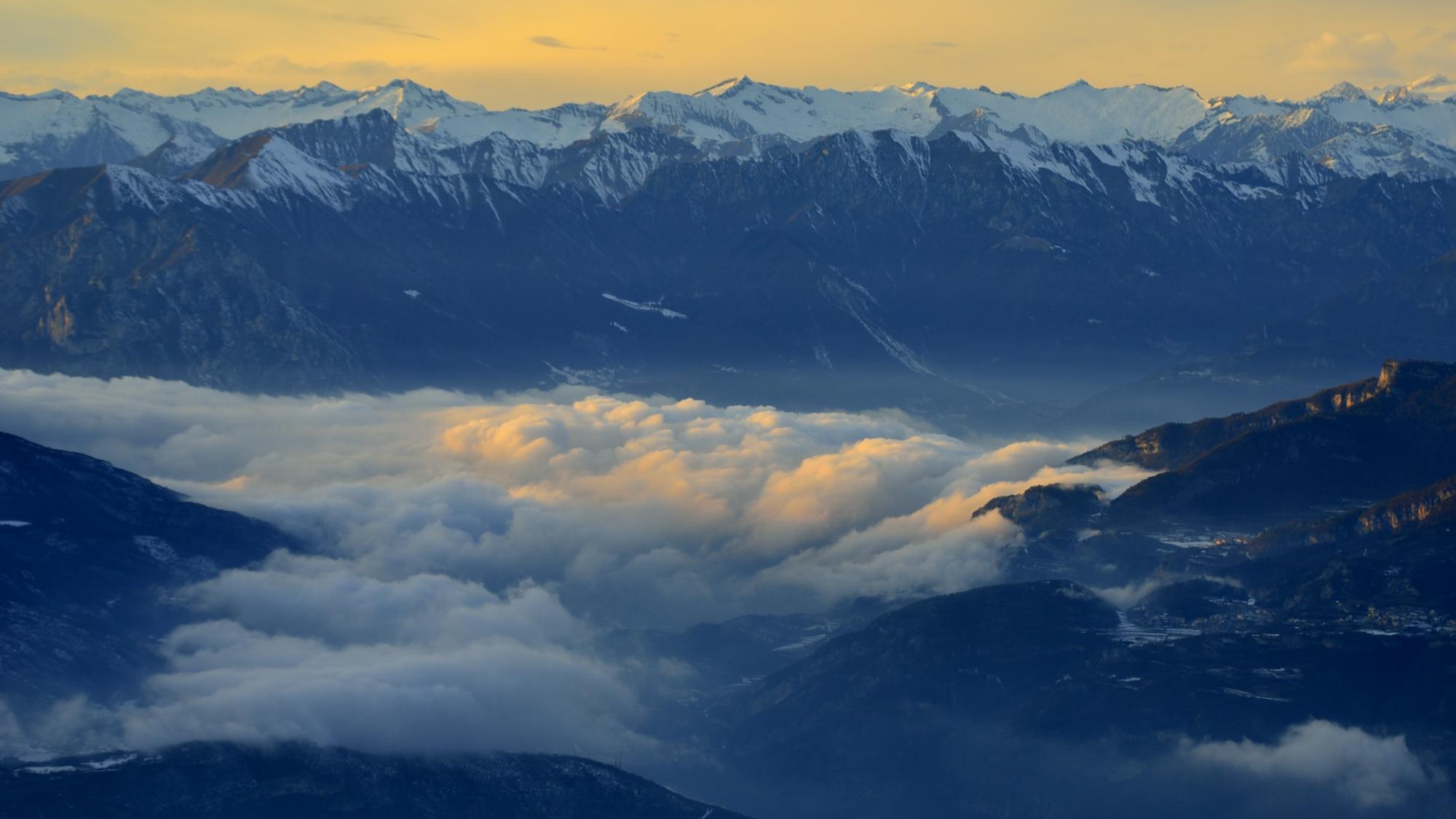 Nuvole su Riva del Garda
