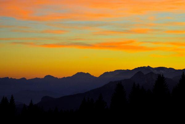 escursione al tramonto
