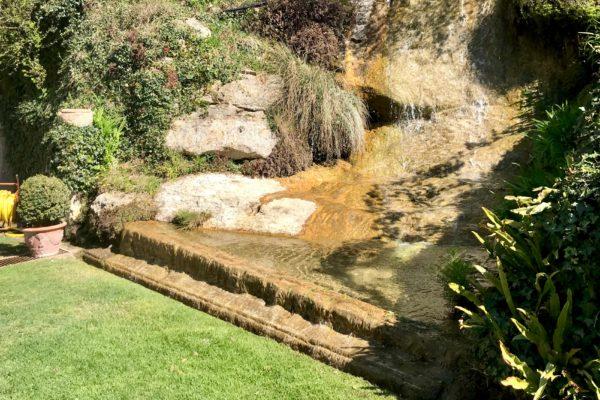 acqua nella valle dei mulini di Calto