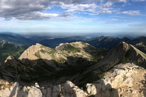 Panorama da Cima Carega