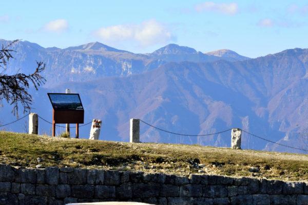 Panorama dal Monte Cimone