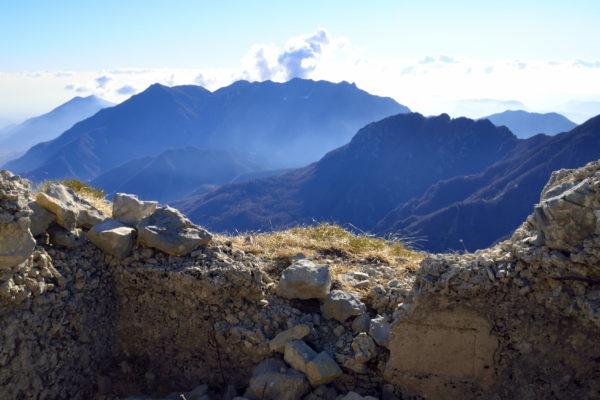 Panorama dal Monte Maggio