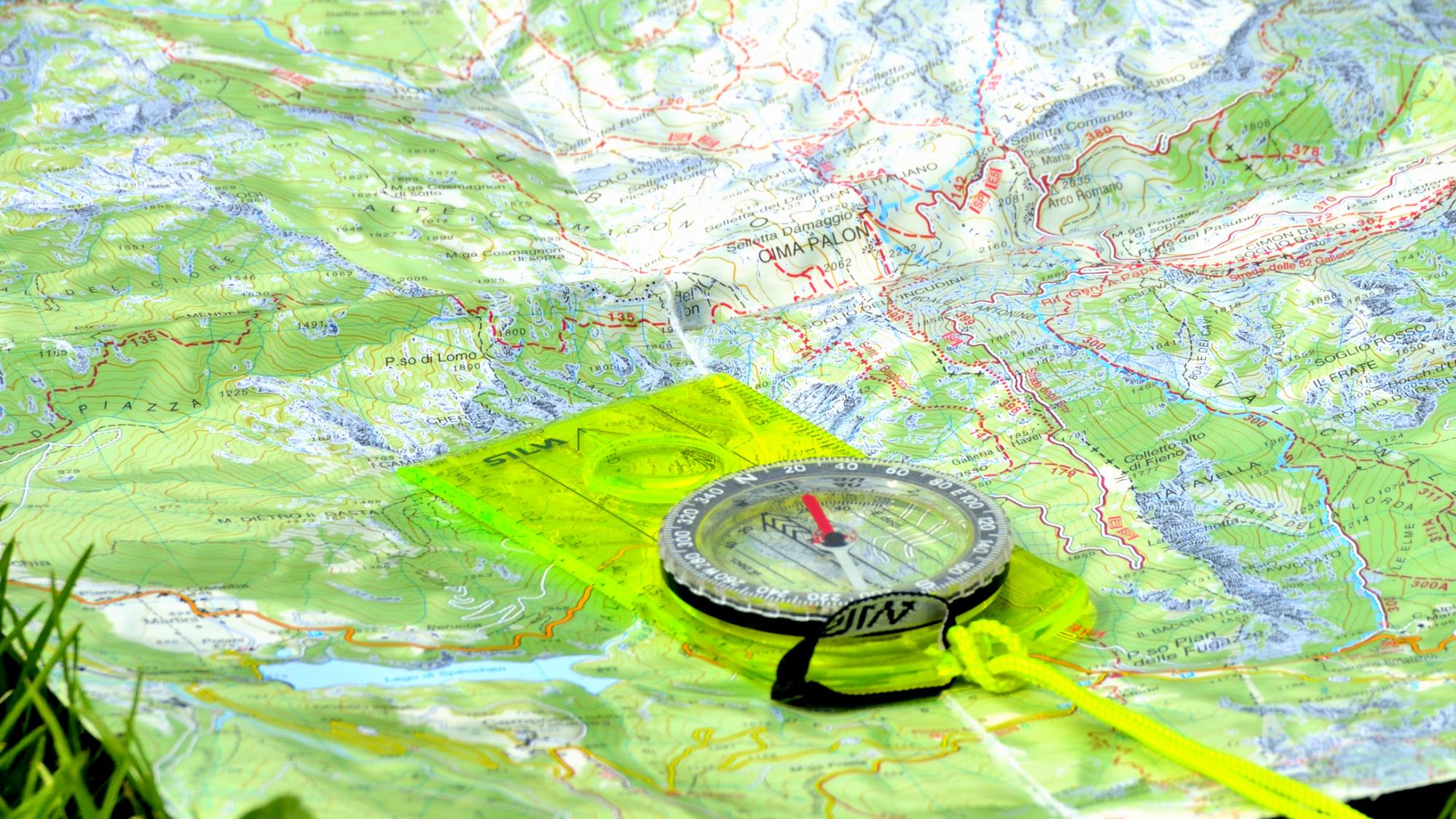 Cartina It.Escursionismo Come Leggere Una Cartina Topografica Giulio Nicetto