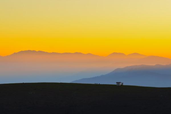 Tramonto dal Monte Fior