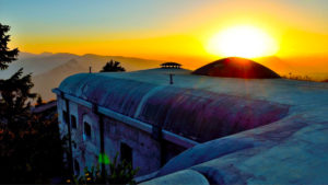 Forte Campolongo al tramonto