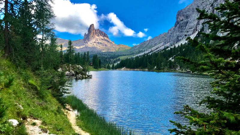 Lago Fedèra e Becco di Mezzodì