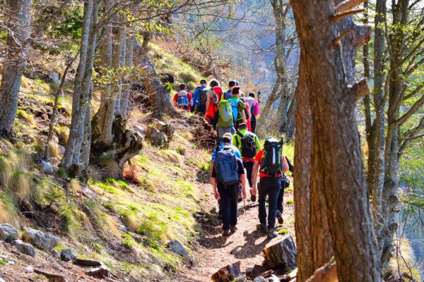escursioni e trekking alla Forra del Lupo