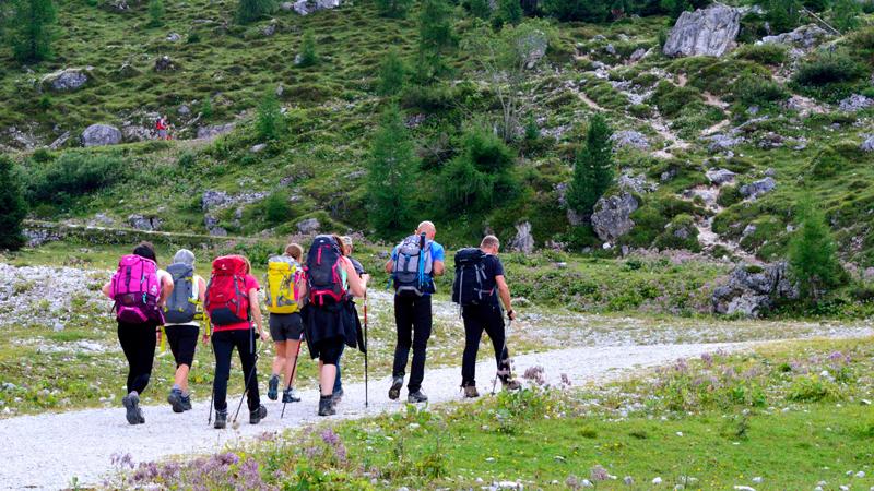 trekking in Val Venegia