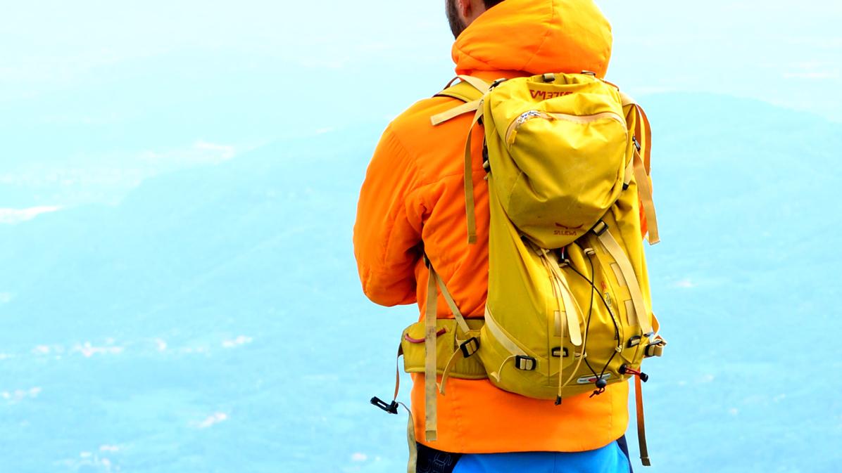 io ed il mio zaino da trekking