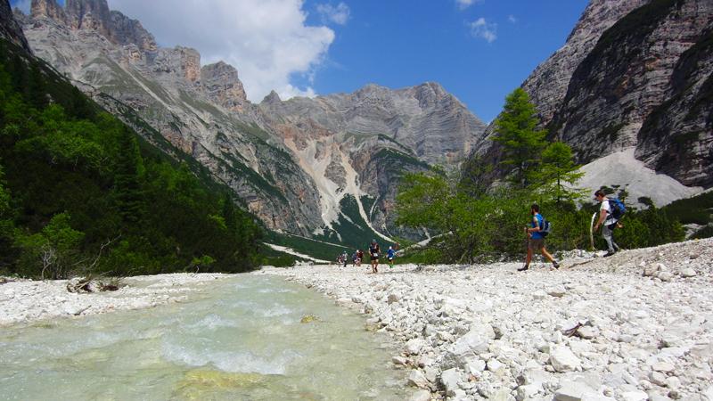 escursioni a Cortina d'Ampezzo Val Travenanzes