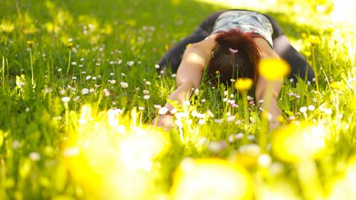 yoga in natura con Giulia Rigoni