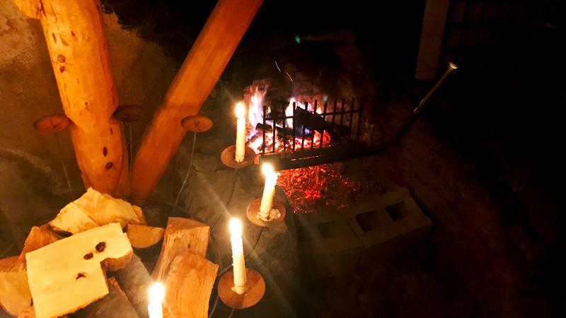 fuoco a Malga Foraoro