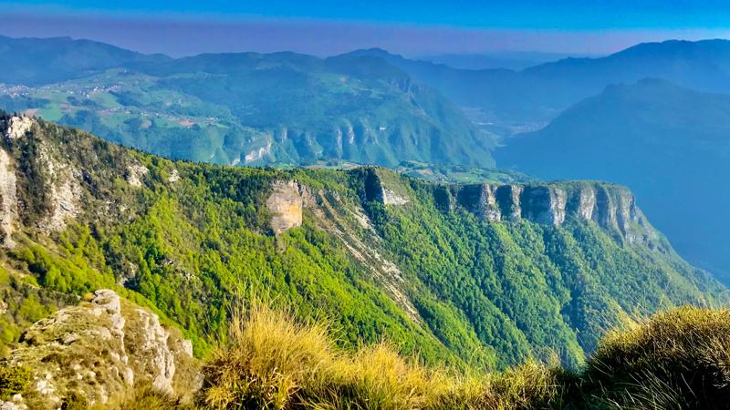 panorami dal Forte Campolongo