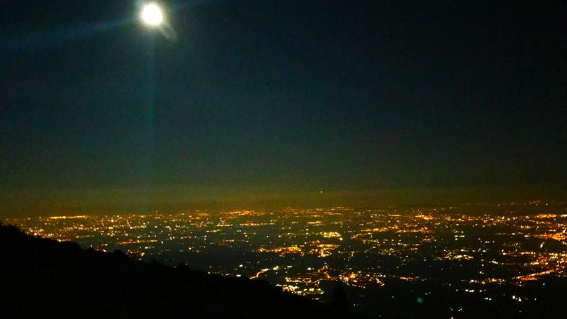 pianura illuminata da Malga Foraoro