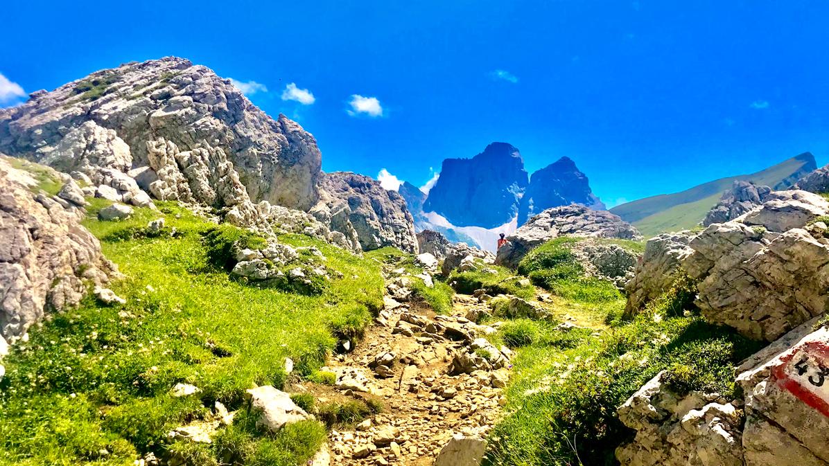 Monte Pelmo da Forcella Giau