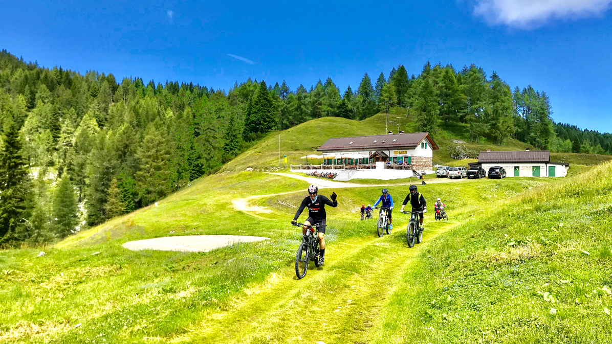 e-bike altopiano di asiago
