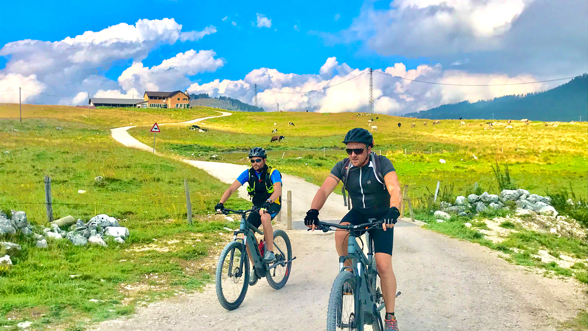 e-bike in Altopiano di Asiago
