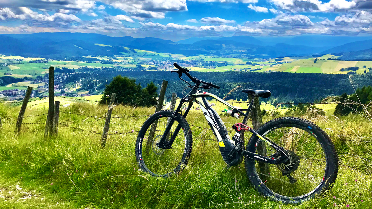 panorami in e-bike