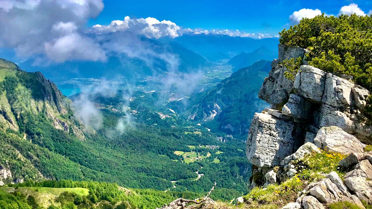 panorami dall'alpe cimbra