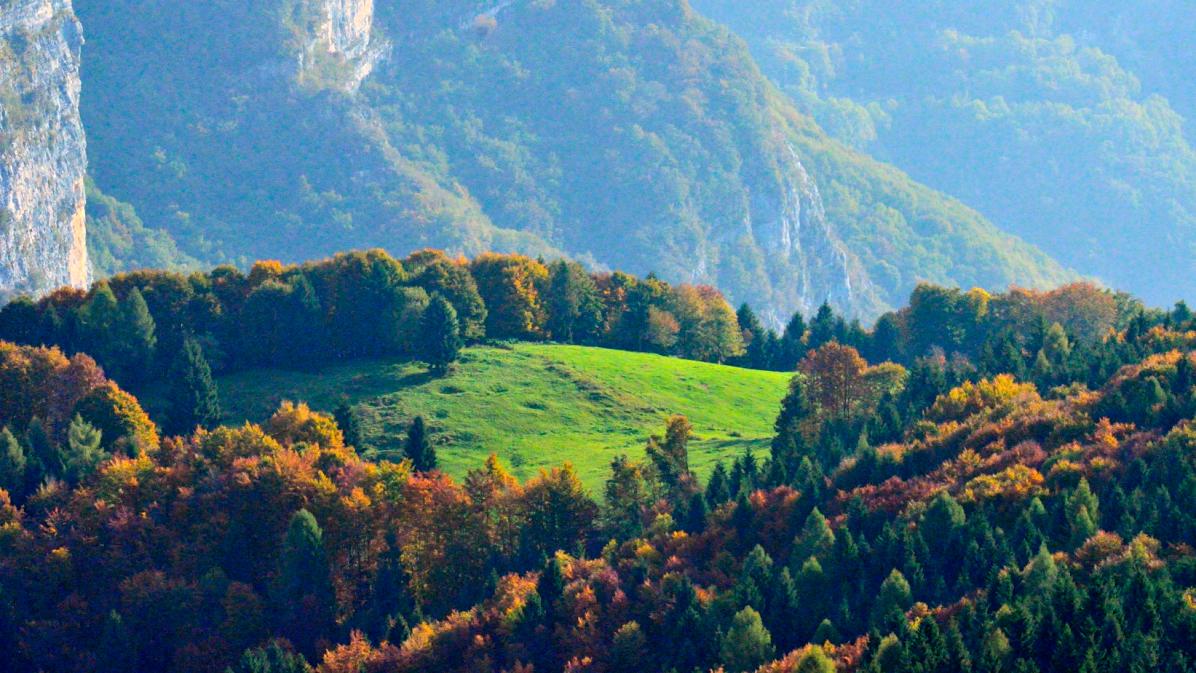 panorami in Valbella