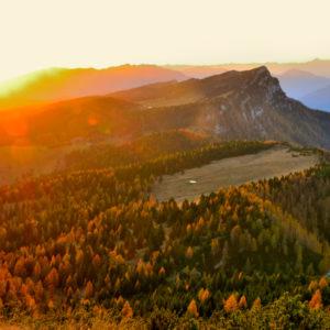 tramonto verso Cima Mandriolo