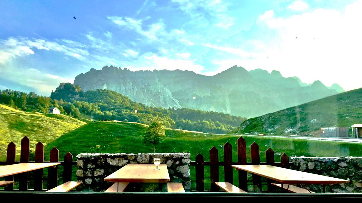 Piccole Dolomiti dal rifugio Campogrosso