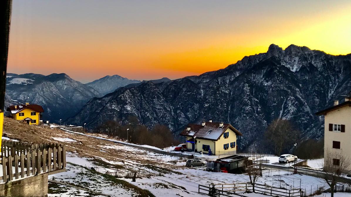 tramonto da Luserna