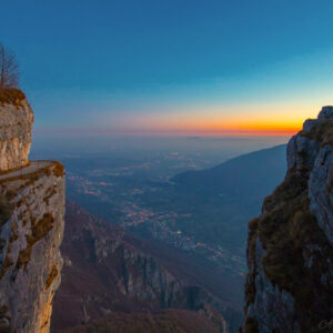 tramonto monte cengio
