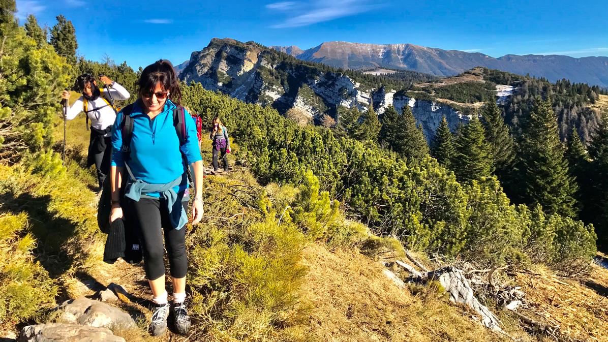 trekking in Altopiano di Asiago