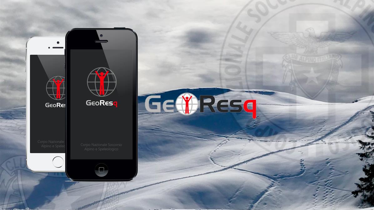 GEORESQ: l'app per la sicurezza in montagna