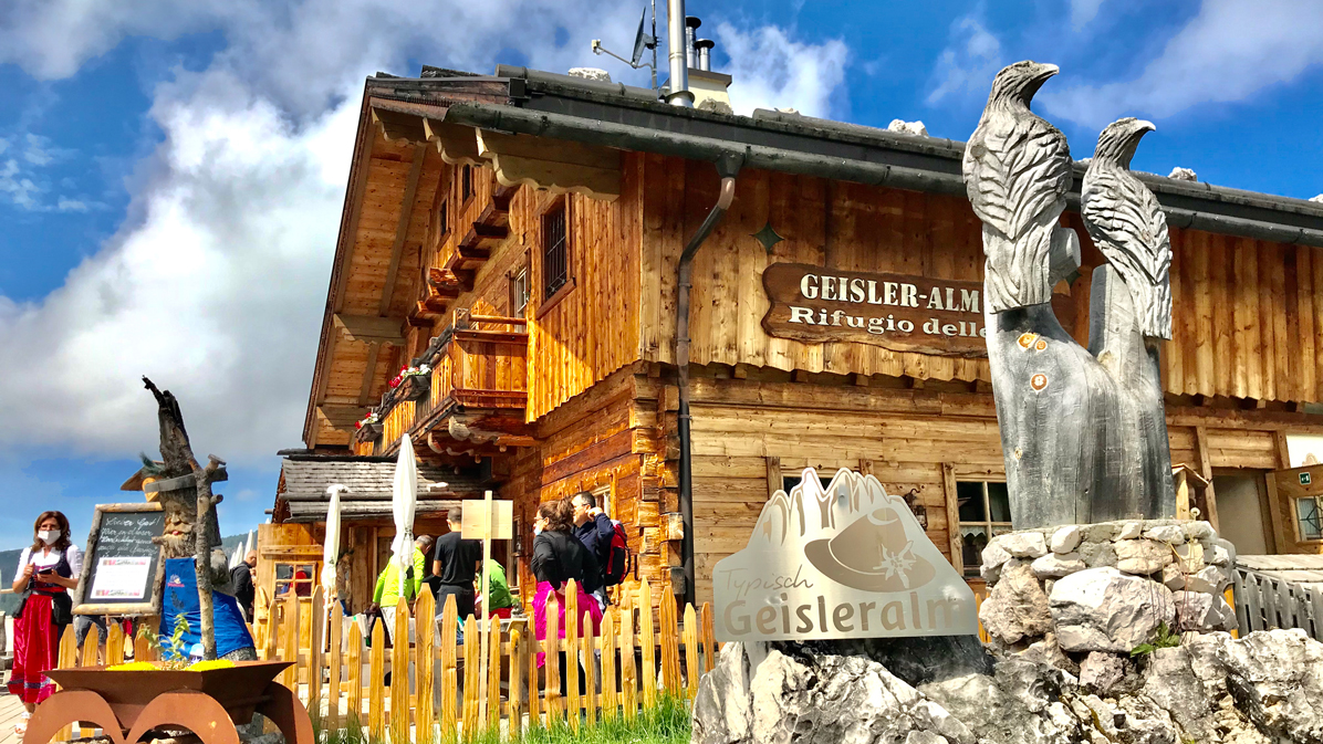 Geisleralm in Val di Funes