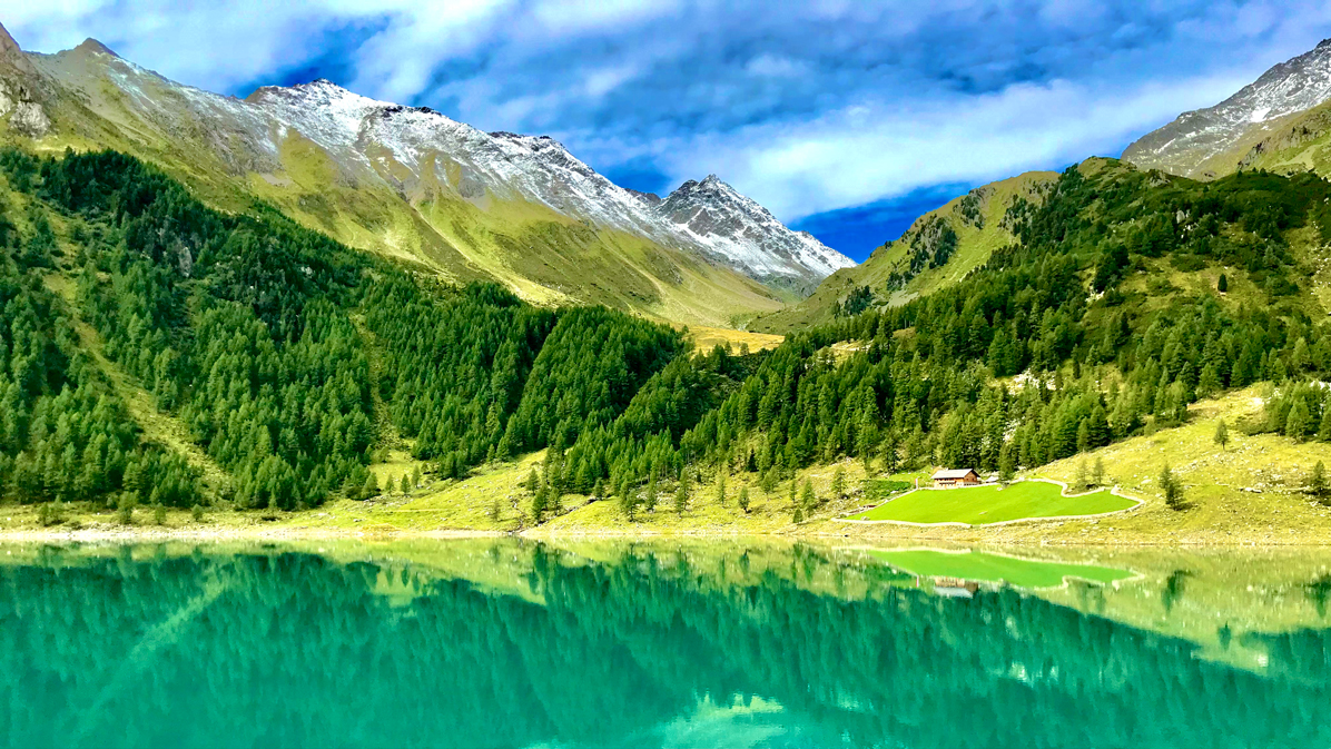 lago di Neves in Alto Adige