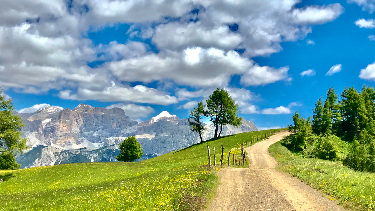 sentiero verso Pralongià