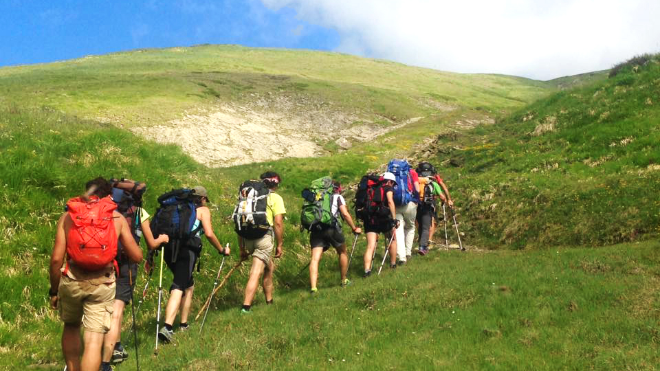 trekking tra i prati d'Abruzzo