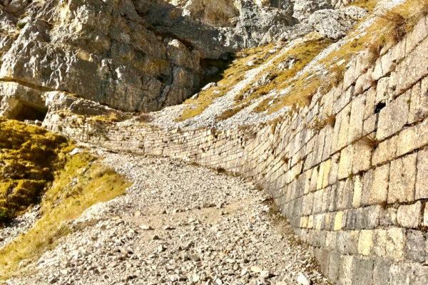 muro a secco Val Camossara